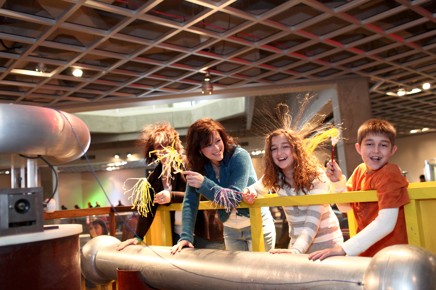 Bridge of Fire Exhibit at Great Lakes Science Center