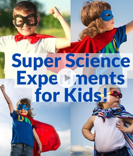 Superhero Science!