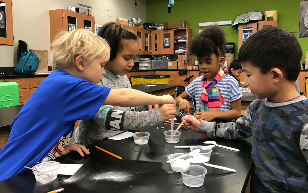 Give your kids the gift of STEM over winter break with Camp Curiosity!