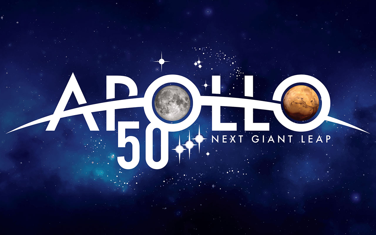 Celebrate the 50th anniversary of the Apollo 11 moon landing with us on July 19-20!
