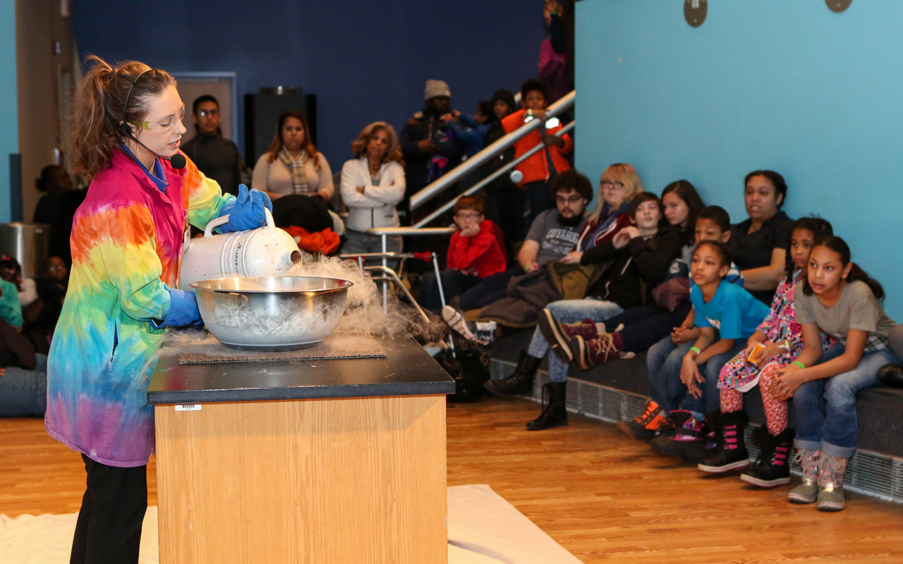 We're celebrating Presidents Day weekend with Curiosity Carnival!