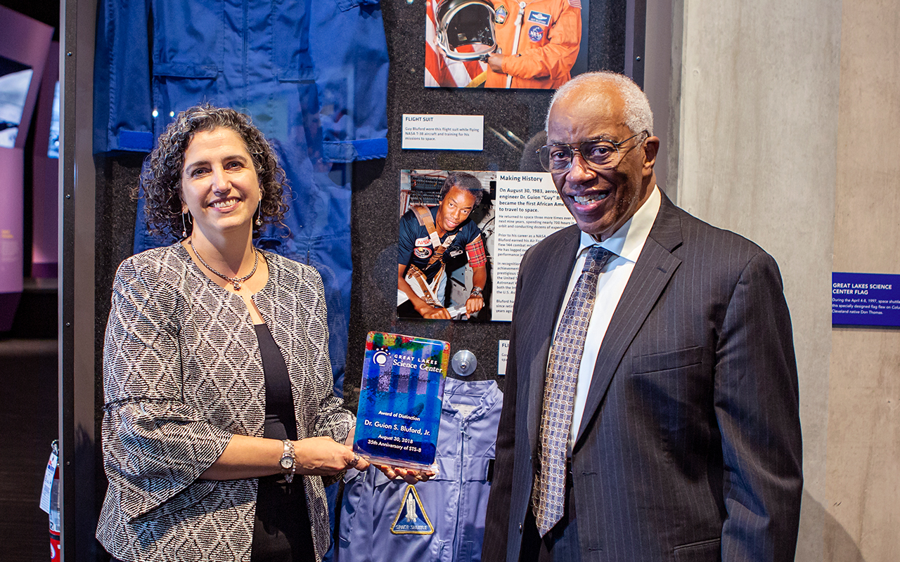 We honor astronaut Guy Bluford, first African-American in space, on 35th anniversary of his first flight