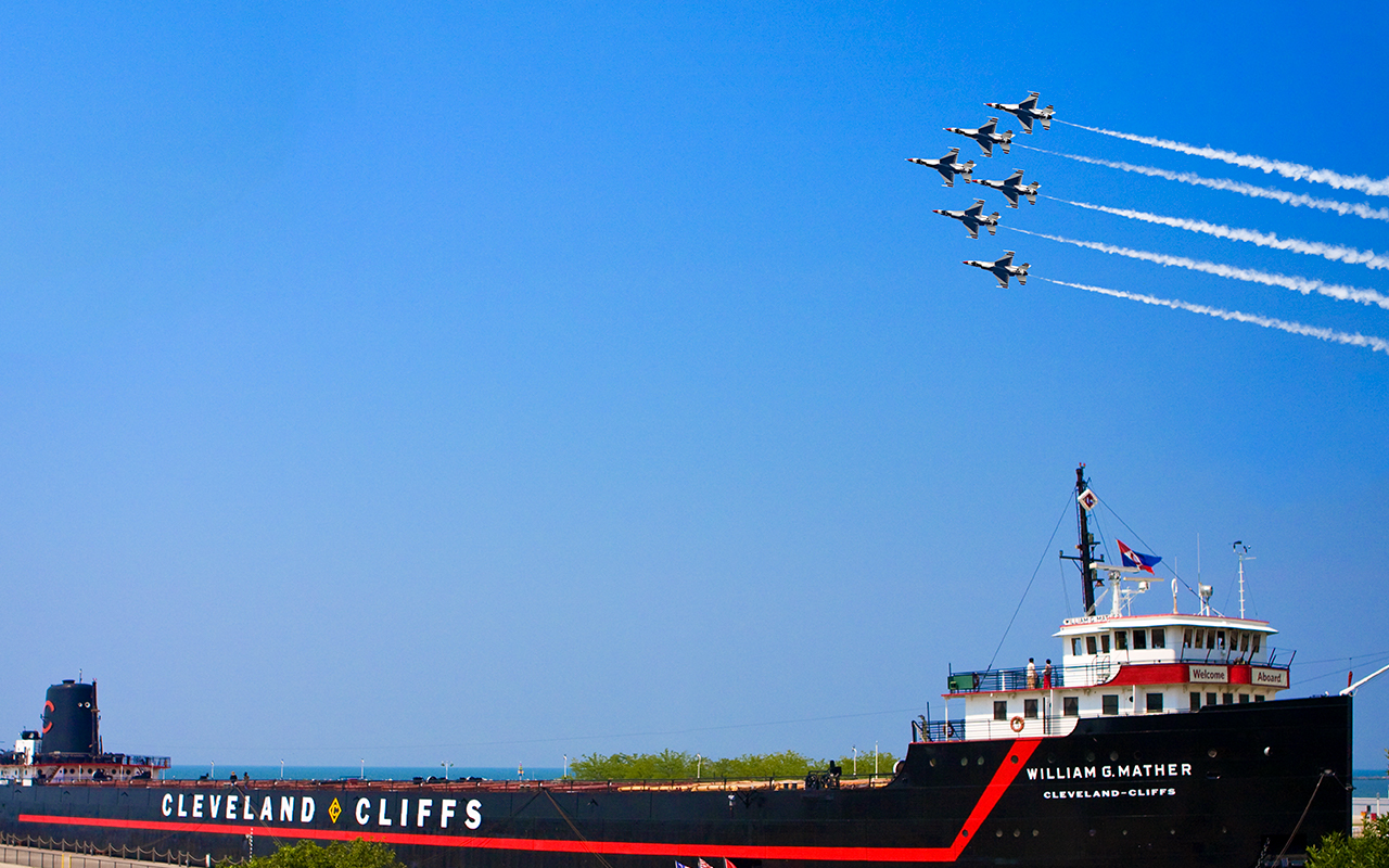Popular Air Show parties return to Great Lakes Science Center for Labor Day Weekend
