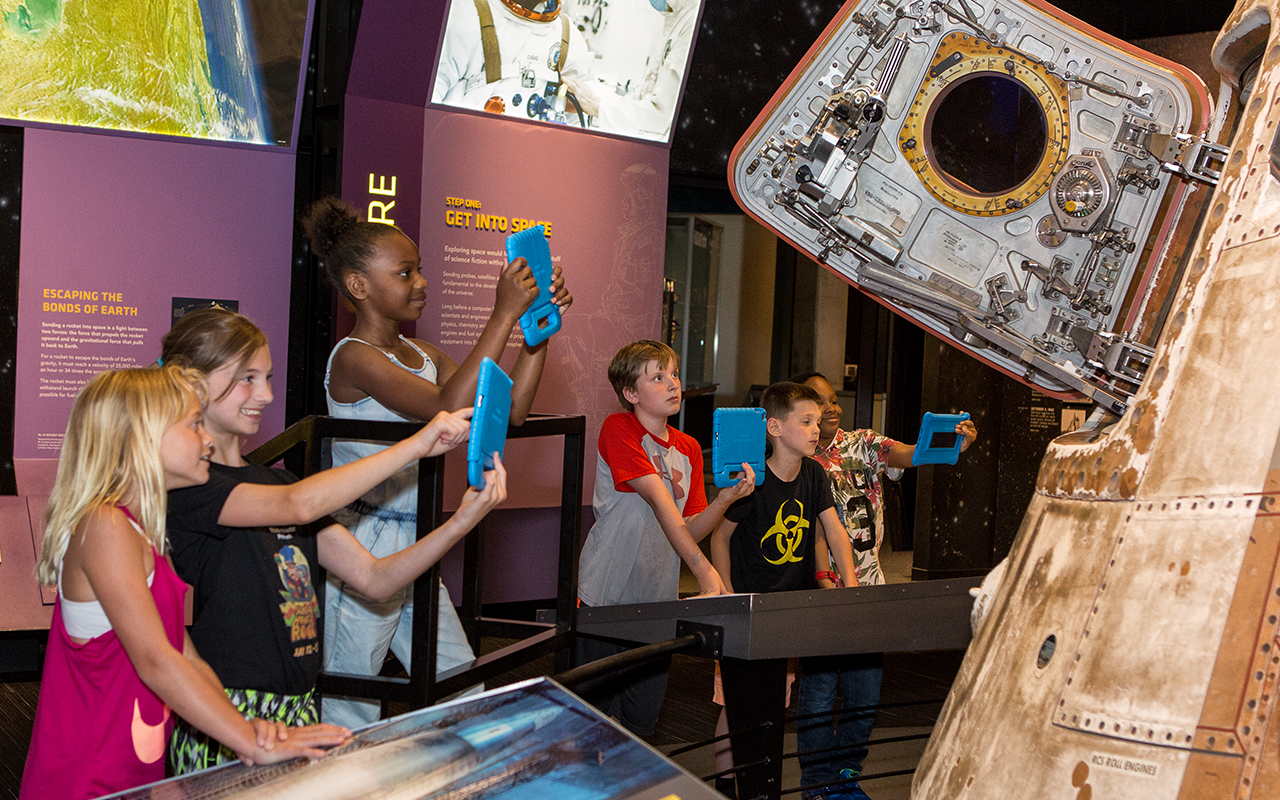 Great Lakes Science Center mobile app takes guests on a virtual mission of exploration through NASA exhibits