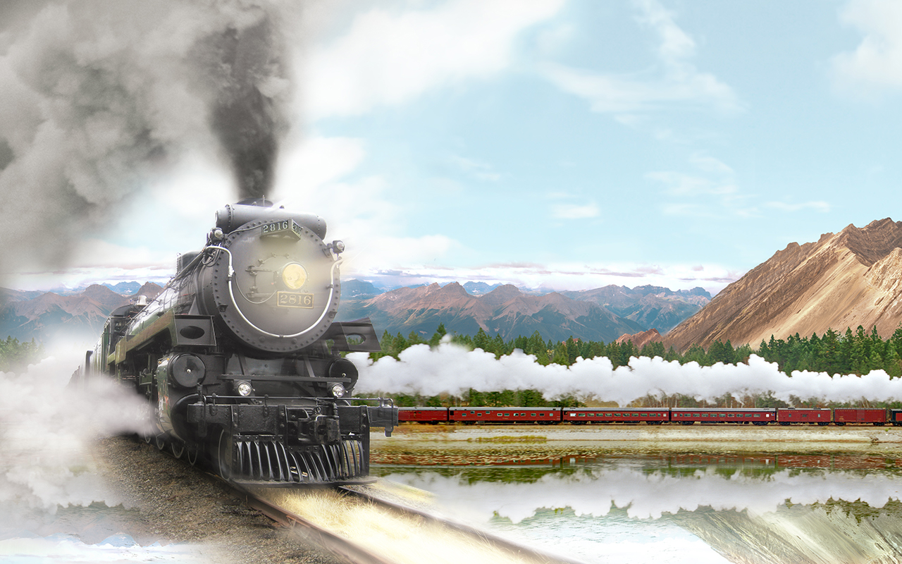 Travel back in time, and across the Canadian Rockies, in 'Rocky Mountain Express' at Great Lakes Science Center
