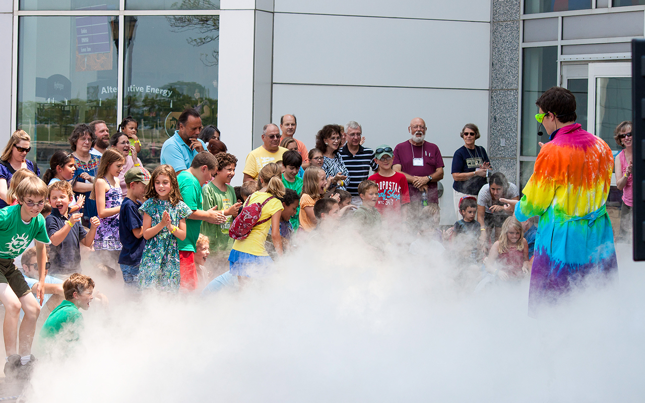 Visit us during Summer Science Splash and beat the heat with a brand new event on Aug. 4 and 5