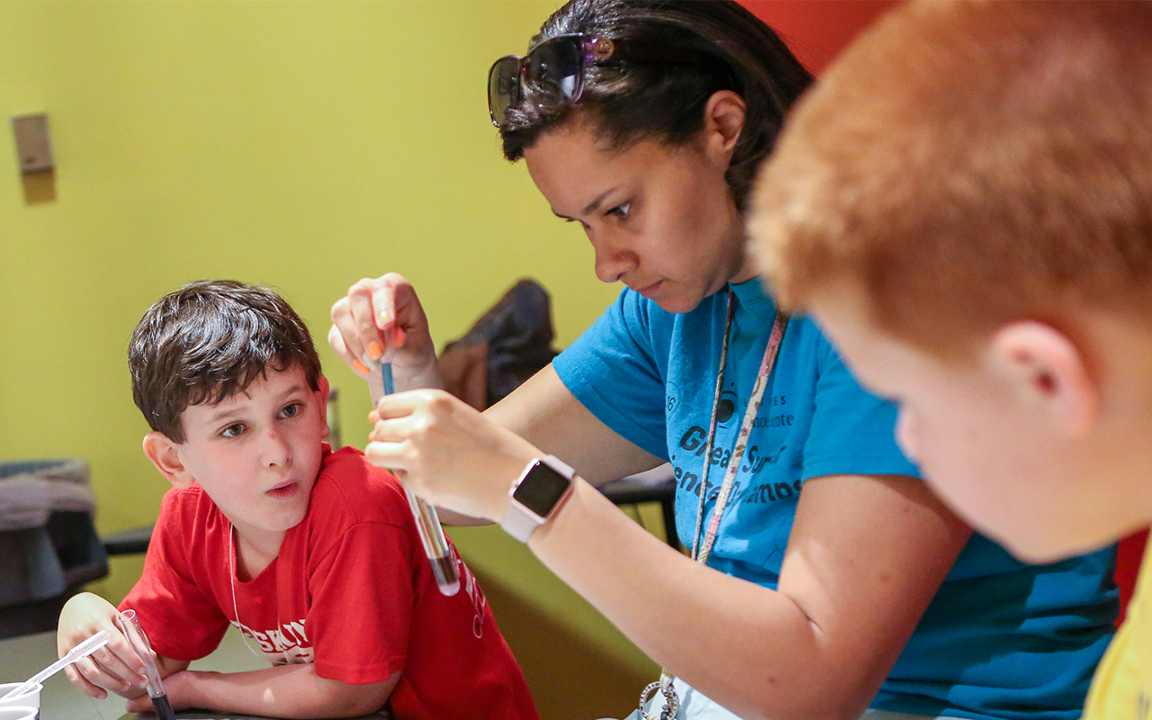 Keep the kids engaged over winter break with Camp Curiosity at Great Lakes Science Center